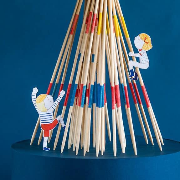 au jourd'hui c'est mercredi - moulin roty - kids games for a rainy day