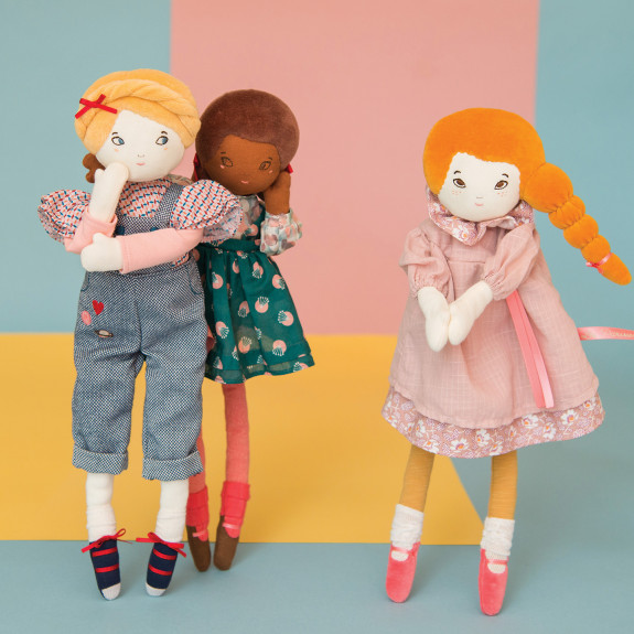 new les parisiennes dolls range moulin roty