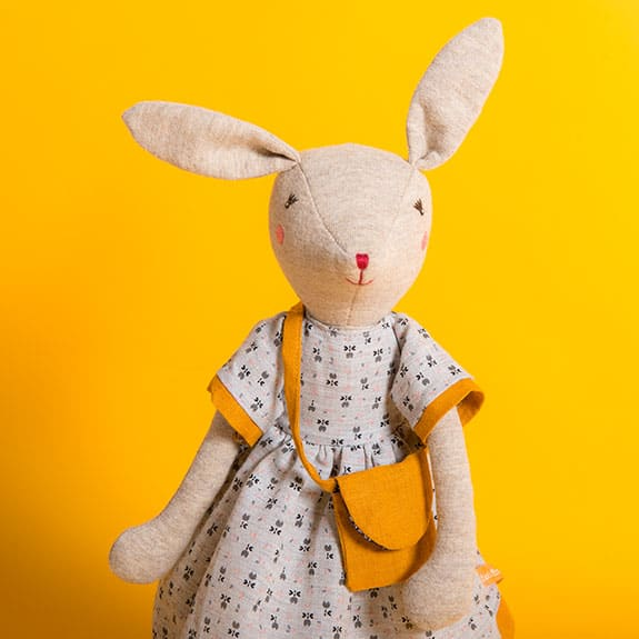 famille mirabelle - bunny toys and baby mouse