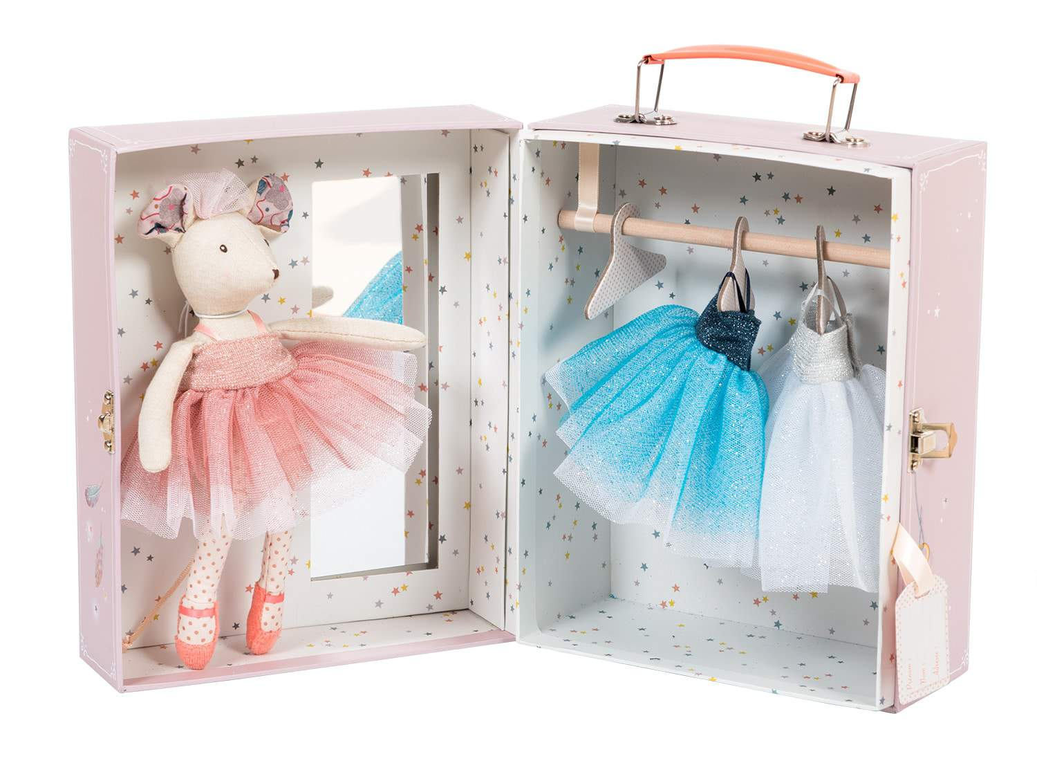ballerina mouse suitcase